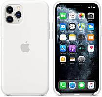 Силиконовый чехол для Apple iPhone 11 Pro Silicone case (Слоновая кость)
