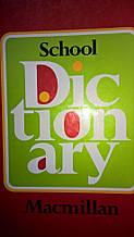 School macmillan dictionary