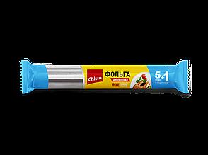 Фольга алюмінієва 5+1м Chisto