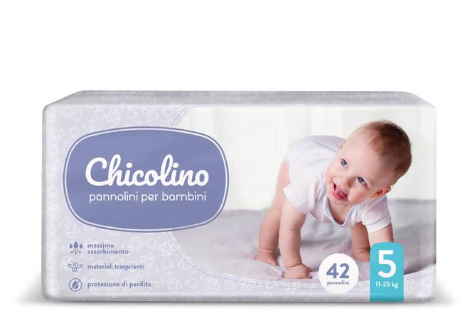 Підгузки Chicolino 5р. 11-25 кг 42 шт, фото 2