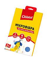 Серветка з мікроф. 1шт д/вікон та пластику Chisto