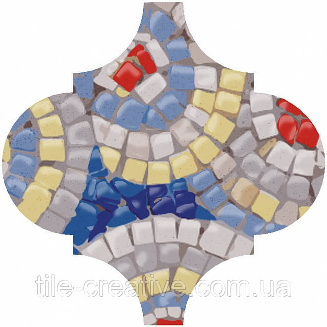 Керамическая плитка Декор Арабески Майолика Гауди6,5x6,5x7 OP\A172\65000