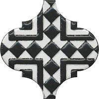 Керамическая плитка Декор Арабески глянцевый орнамент6,5x6,5x7 OS\A25\65000