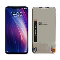 Дисплей (LCD) Meizu X8 с тачскрином, чёрный