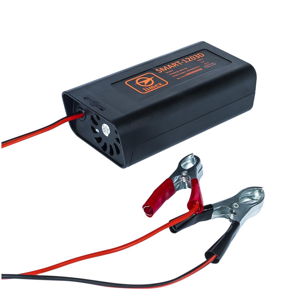 Зарядное устройство для аккумуляторов Limex Smart–1203D