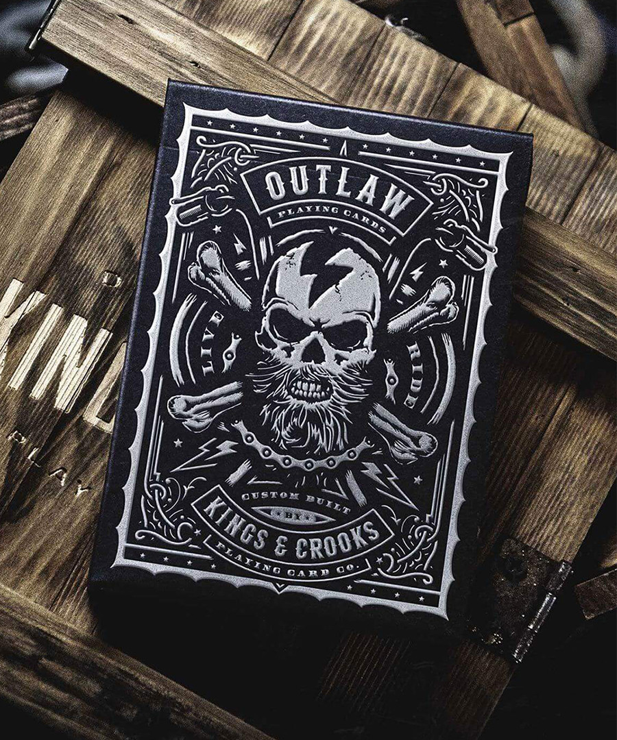 Карты игральные   Outlaw Playing Cards by Kings & Crooks