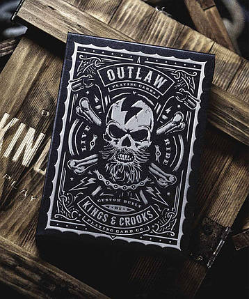 Карты игральные   Outlaw Playing Cards by Kings & Crooks, фото 2