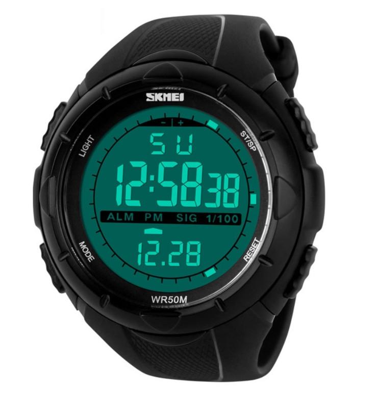 Skmei Мужские спортивные водостойкие часы Skmei Dive 1025, фото 1