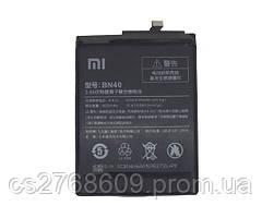 Акумулятор Батарея 100% Original Xiaomi BN40, Redmi 4 Pro