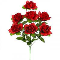 Букет искусственных роз Баккара, 43см