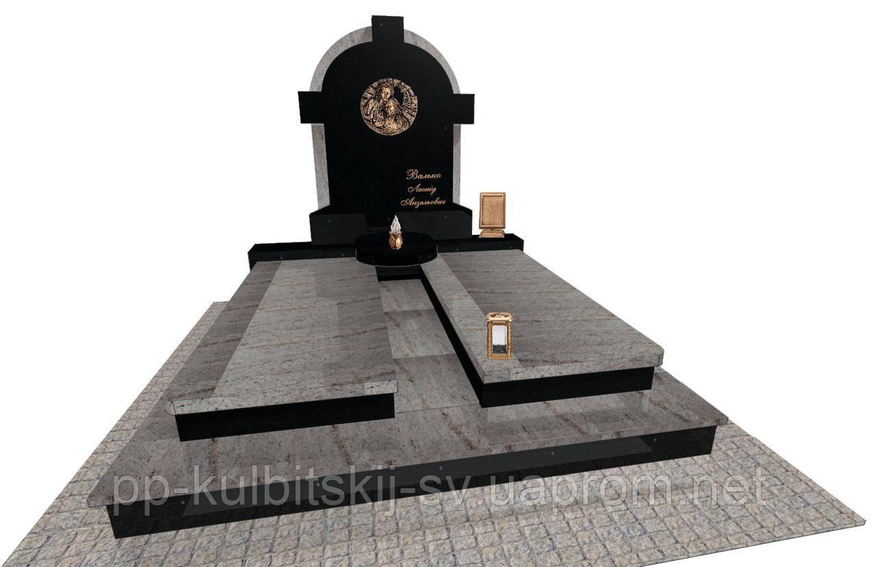 Пам'ятник надгробний Елітний подвійний Е0200