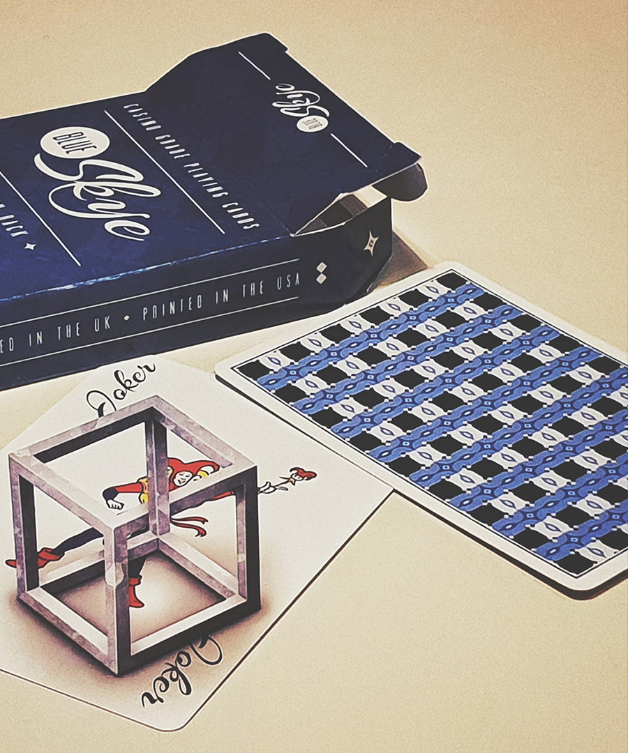 Карты игральные | Blue Skye Playing Cards by UK Magic Studios and Victoria Skye