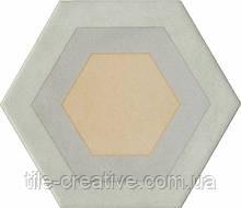 Керамическая плитка Вставка Патакона 10,4x12x7 VT\A68\SG1010