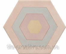 Керамическая плитка Вставка Патакона 10,4x12x7 VT\A74\SG1010