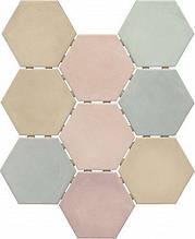 Керамическая плитка Патакона микс, полотно из 9 частей12x10,4x7 SG1007N