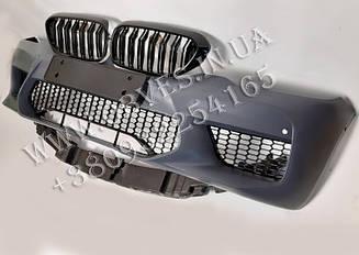 Передний бампер BMW 5-series G30 стиль BMW M5 G30