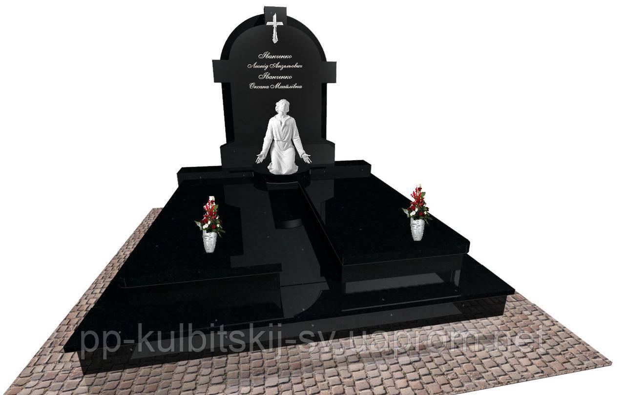Пам'ятник надгробний Елітний подвійний Е0202