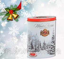 Чай  Basilur Зимняя ягода Брусника  100 гр