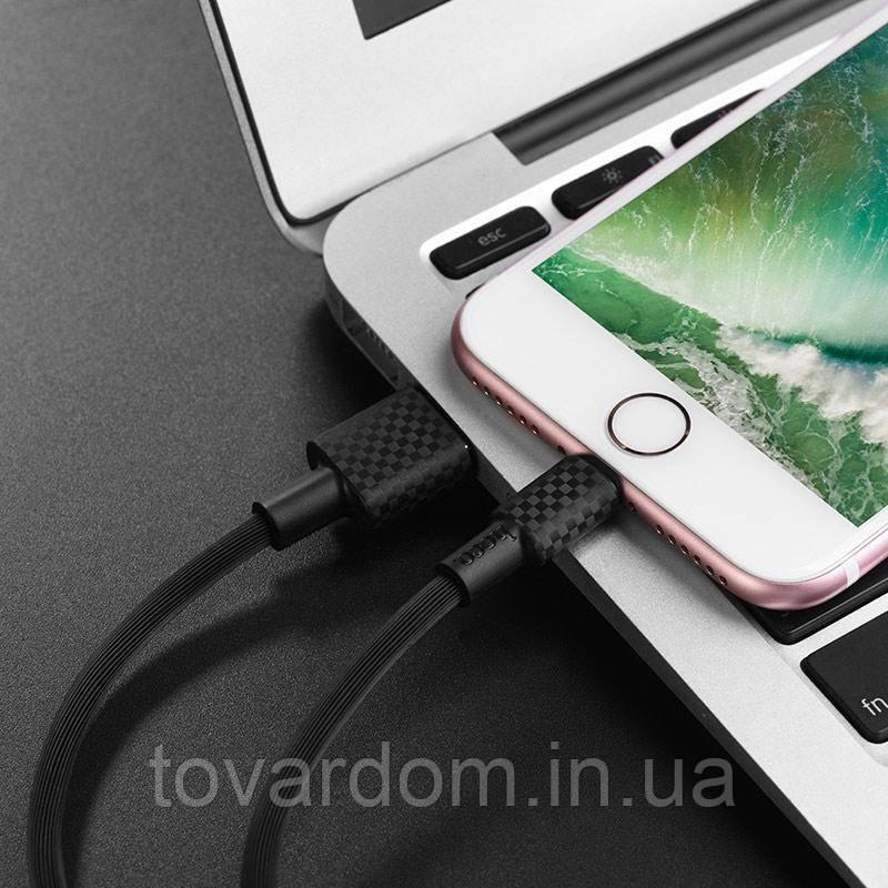 Кабель синхронизации USB Cable Hoco X29 Superior iPhone 8