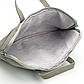 """Женская Сумка для Ноутбука 15"""" и Документов Формата А4 JQMEI (962) Искусственная Кожа Темно-Серая, фото 6"""
