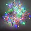 Гирлянда нить светодиодная 500 led, Мульти, прозрачный провод, 15,5м., фото 3