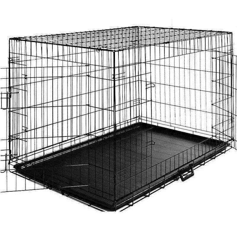 Металлическая клетка переноска для собак Dog carrier XL 108x70x77