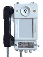 Взрывозащищенный шахтный телефонный аппарат без номеронабирателя с питанием от местной батареи ТАШ-12ЕхI-С(МБ)