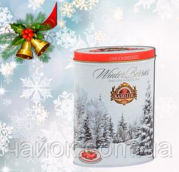 Чай  Basilur Зимняя ягода Брусника  100 гр Клюква