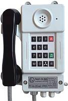 Взрывозащищенный шахтный телефонный аппарат с номеронабирателем и встроенным динамиком ТАШ1-15 (ВД)