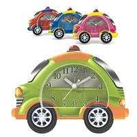 Детские настольные часы будильник Машина полиция