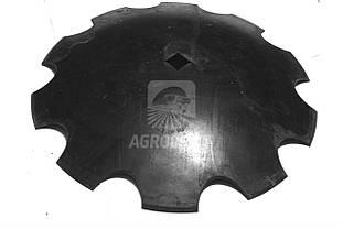 Тарілка дискової борони зубчата (ромашка) D=51.5см 8216-363-002-003