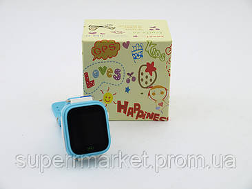 Q80 с GPS трекером детские смарт-часы Smart Watch детские умные часы, голубые
