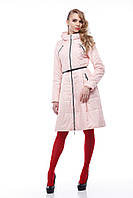 Демисезонная женская куртка ORIGA Аврора 42 Персик (02Avrora)