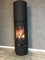 Отопительная печка на дровах  SEVILLA  черная ,( каминофен, изразцовая печь )., фото 1