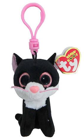 Мягкая игрушка черный кот Pepper, фото 2
