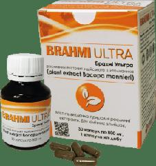 Брахми ультра для функционирования нервной системы, 30 капсул Amma