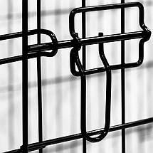 Металева клітка переноска для собак Dog carrier XXL 122x76x83, фото 3