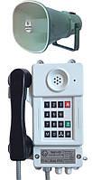 Взрывозащищенный шахтный телефонный аппарат с номеронабирателем ТАШ1-15У