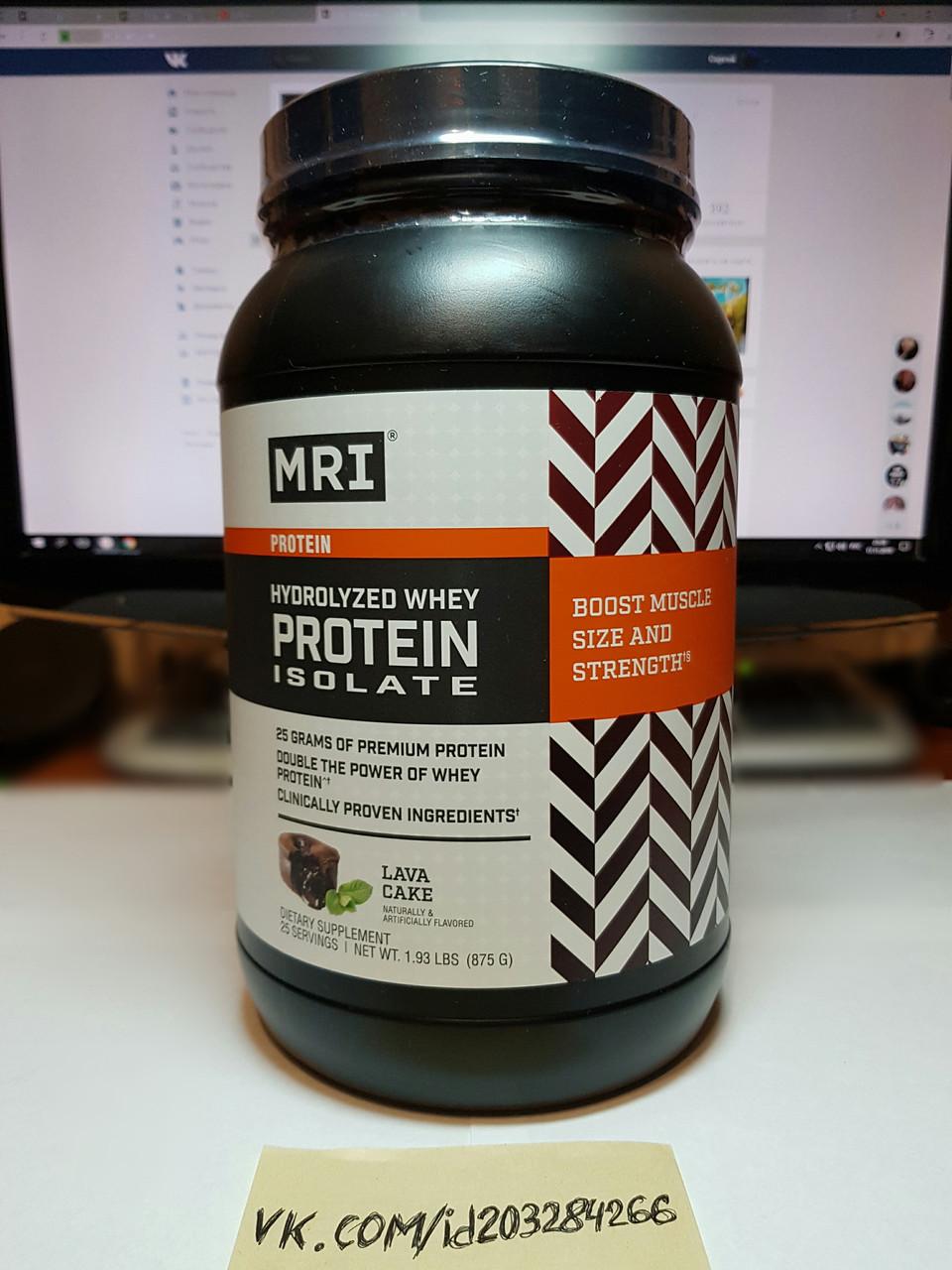 Гидролизат протеина MRI Hydrolyzed Whey Protein Isolate 875g