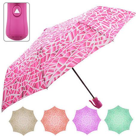 Зонтик складной полуавтомат r55см 8сп, фото 2