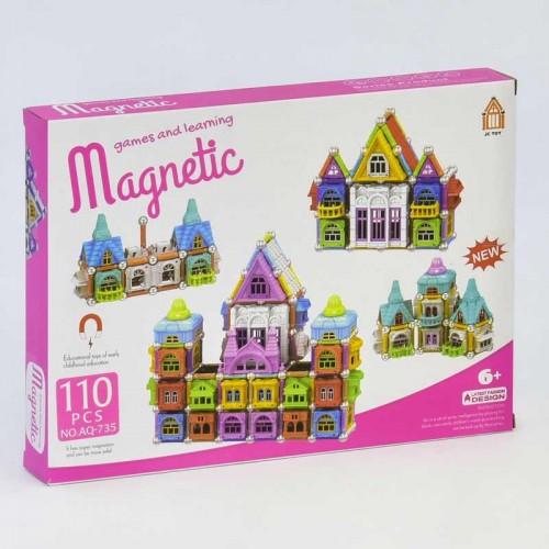 Магнитный конструктор - Замок, на 110 деталей, 735