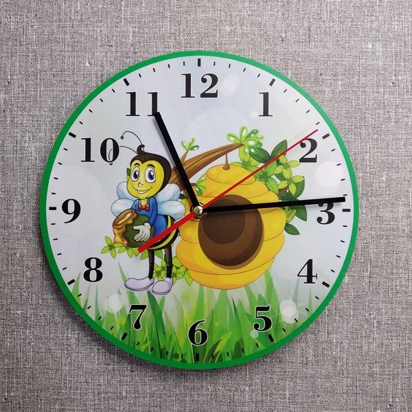 Настенные часы Пчелка