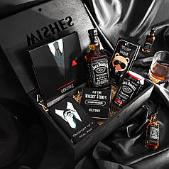 Подарочный набор для мужчины «Black men style »