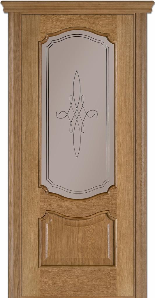 Двері міжкімнатні Термінус Модель  Caro ( Каро) 41 без коробки, без лиштви