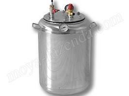 Автоклав для домашнего консервирования тушенки (14 л. банок, нержавейка)