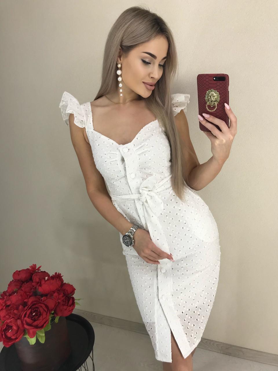 Платье прошва лето