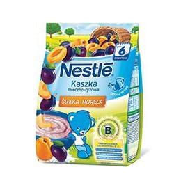 Каша молочная Nestle рисовая со сливой и абрикосом, 6+, 230г