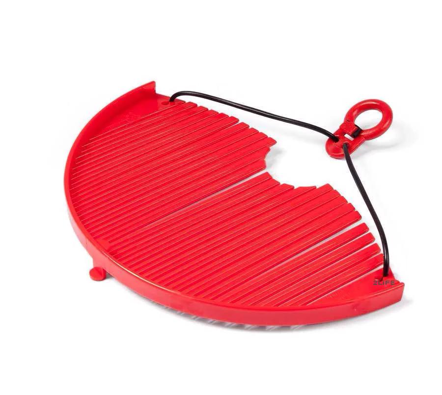 Дуршлаг-накладка для слива воды 2Life Red (n-195)