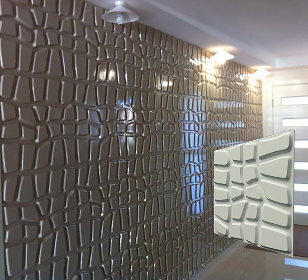 """Гипсовая 3d панель для стен """"ДАНДИ"""" (декоративная стеновая 3д панель)"""