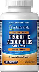 Puritan's Pride Probiotic Acidophilus with Pectin Capsules 100
